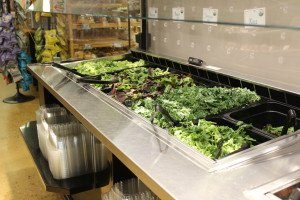 Newark Natural Foods Salad Bar