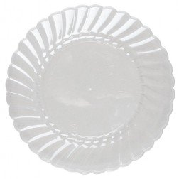 Scalloped Plate