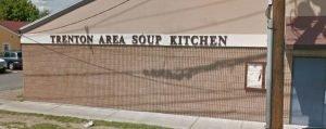 Trenton Area Soup Kitchen Outside