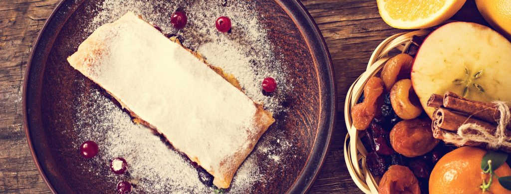 Our Favorite Fall Dessert: Apple-Cranberry Strudel